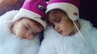 İkizler çizgi film seyrederken ölmüşler