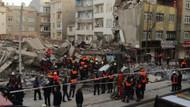 Zeytinburnu'nda çökme anını gören vatandaş dehşeti anlattı