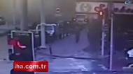 Zeytinburnu'ndaki binanın çökme anı!