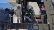 12 tonluk mermer bloğun altında kalan Suriyeli işçi öldü