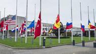 Nato'da bayraklar yarıya indiriliyor