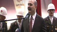 İçişleri Bakanı Soylu konuşurken asker bayıldı