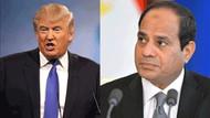 Trump darbeci Sisi'yle görüştü!