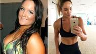 Sevgilisine kızdı tam 65 kilo verdi inanılmaz değişim!