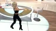 Didem'den canlı yayında seksi dans