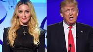 Trump: Madonna iğrenç biri