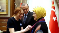 Cumhurbaşkanı Erdoğan Lindsay Lohan'ı kabul etti