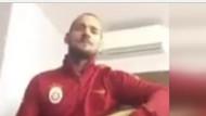 Wesley Sneijder bağlama çaldı