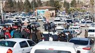 Düğün konvoyundaki PKK paçavralarına müdahale
