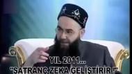Cübbeli Ahmet 5 yıl önce satrancı öve öve bitirememiş