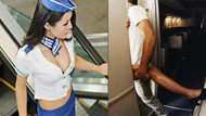 Gizemli futbolcu açıkladı: Uçak personeliyle seks partisi yaptılar