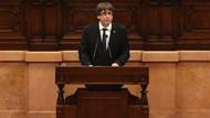 Katalonya'da bağımsızlık süreci askıya alındı, İspanya ile müzakereye devam