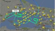 THY uçağı rahatsızlanan yolcu için 7 saat tur attı