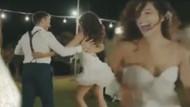 Azra Akın ve eşi Atakan Koru'dan Latin dansı!