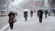 Meteoroloji'den iki il için kar yağışı uyarısı!