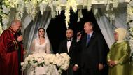 Gökhan Töre ile Esra Bilgiç evlendi Erdoğan şahit oldu