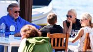 İsviçreli iki milyarder medya patronu Bodrum'da tatilde