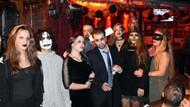 Marmaris'teki Cadılar Bayramı kutlamasından ilginç görüntüler