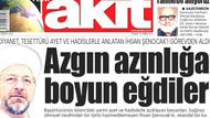 Akit'ten Diyanet'e görevden alınan Şenocak tepkisi: Azgın azınlığa boyun eğdiler..