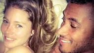 Ünlü çiftten yatak selfiesi