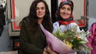 Kadın dizisinin setine kadın işçilerden ziyaret