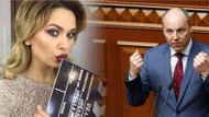 Meclis başkanıyla seks yapmak isteyen gazeteci ortalığı karıştırdı