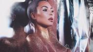 Kim Kardashian'ın çırılçıplak pozu ortalığı karıştırdı