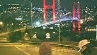 15 Temmuz Şehitler Köprüsü'nde şüpheli paket paniği! Köprü trafiğe kapatıldı