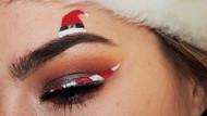 Kaşlarda Noel Baba şapkası çılgınlığı