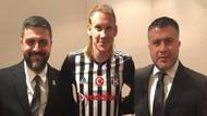 Vida, Beşiktaş formasını giydi!