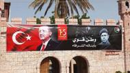 Erdoğan, Sudan'da Ömer Halisdemir pankartıyla karşılandı