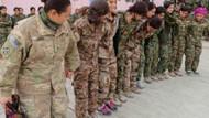 ABD'li kadın asker halay başı oldu, YPG'lilerle halay çekti