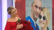 Kocası Esra Erol'un 10 yıllık hayalini canlı yayında gerçekleştirdi