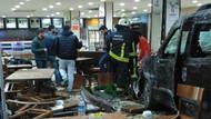 Bursa'da dehşet! Öldürdü, araba çaldı, restorana daldı