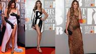 Brit Ödülleri'ne kıyafetleriyle damga vurdular!