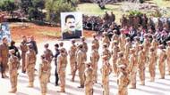 Şok görüntüler! Öcalan posterleri altında yemin ettiler