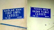 PKK'nın katlettiği çocukların isimleri caddelere verildi