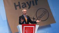 CHP Genel Başkan Kılıçdaroğlu: Tek kişi hükümran olamaz