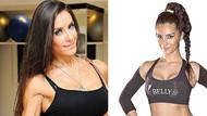 Bikini fitness şampiyonları Derya Mutlu ve Merve Karakaya'nın kalça kavgası