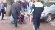 Cadde ortasında tartıştığı kişiyi bacağından vurdu
