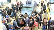 Polis, HDP mitinginde havaya ateş açtı