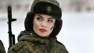 Rus kadın askerlerin güzelliği büyüledi