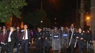 Antalya'da yürümek isteyen kadınlara polis tomalarla müdahale etti