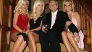 Playboy'un efsane patronu Hugh Hefner 91 yaşında