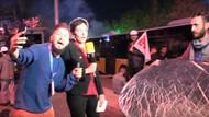 Ahsen TV muhabiri Alman kanalının canlı yayınını bastı