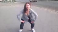 Genç kızın twerk dansı, trafik kazasına neden oldu