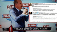 TRT muhabiri referandum eylemine katıldı, ortalık karıştı