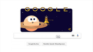 Google Cassini uzay aracını doodle yaptı