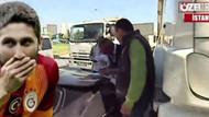 Sabri Sarıoğlu kaza yaptı! Kör noktayı göremedi