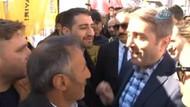 HDP'nin hayır çadırını ziyaret eden AKP'li başkana sert tepki